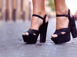 Günlük Yazlık Topuklu Ayakkabı