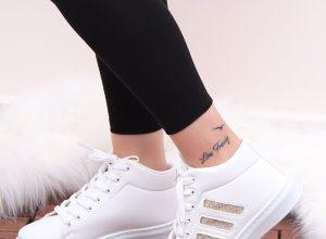 Rose Gold Spor Ayakkabı Kombinleri